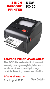 New Barcode Printer