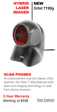 New Orbit 7190g Scanner