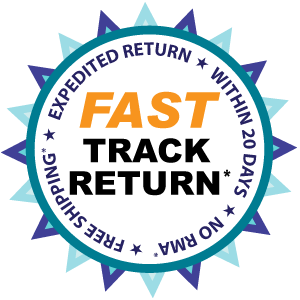 Fast Track Returns - Expedited Returns Available On This Product - Terms and Conditions Apply