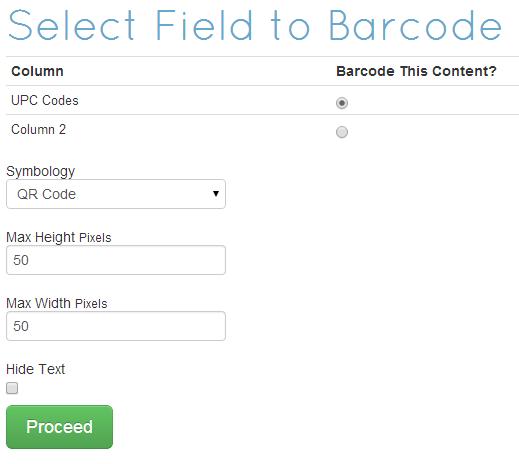 FREE Barcode Generator for Excel| POSGuys com