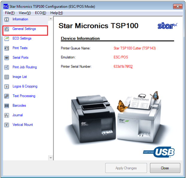 Star Micronics to Epson - Emulation Setup Blog Post