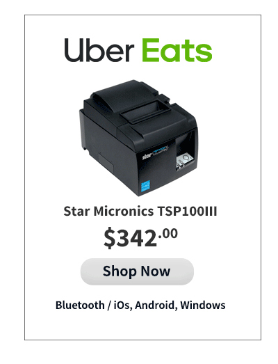 Uber Eats Compatible Printer