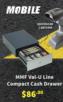 MMF Compact Cash Drawer