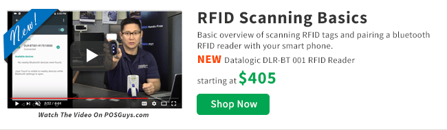 New RFID Scanning Basics Video
