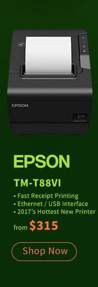 Epson TM-T88VI Receipt Printer