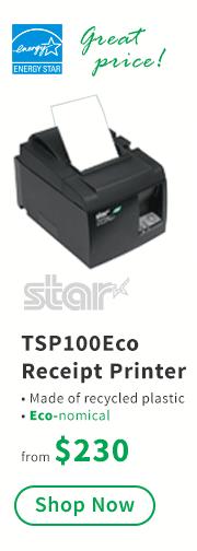 Star TSP100 Eco Receipt Printer