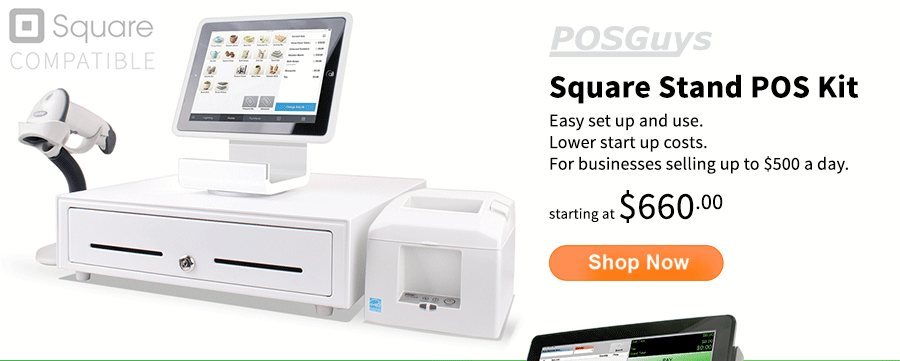 Square Stand POS Hardware Kits starting at $660