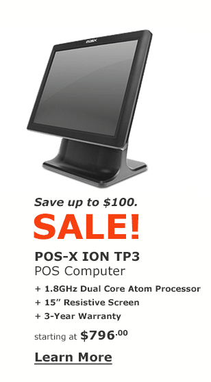 POS-X Ion TP3 POS Computer