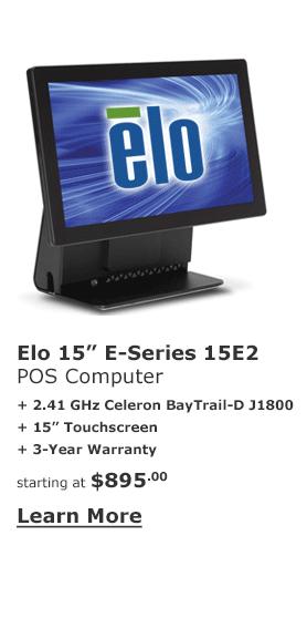 POS-X Elo E-Series POS Computer