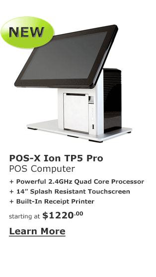 POS-X Ion TP5 Pro POS Computer