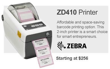 Zebra ZD410 Barcode Printer