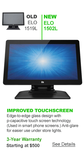 Elo 1502L Touch Monitor