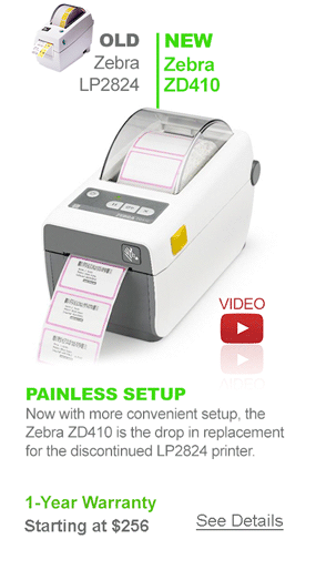 Zebra ZD410 Barcode Printer