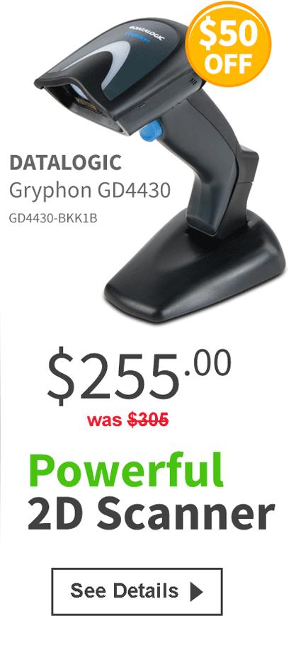 Datalogic Gryphon GD4400 Details