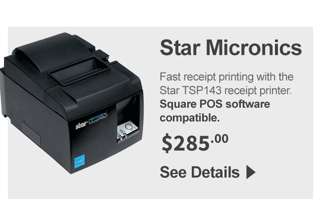 Star TSP143 Receipt Printer