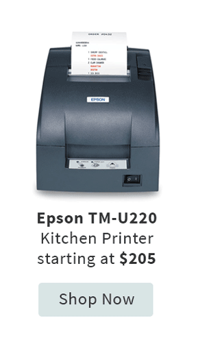 Epson Tm-U220 Kitchen Printer