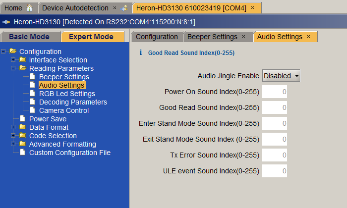 POS FAQ How do I remove certain beeps or tones from my